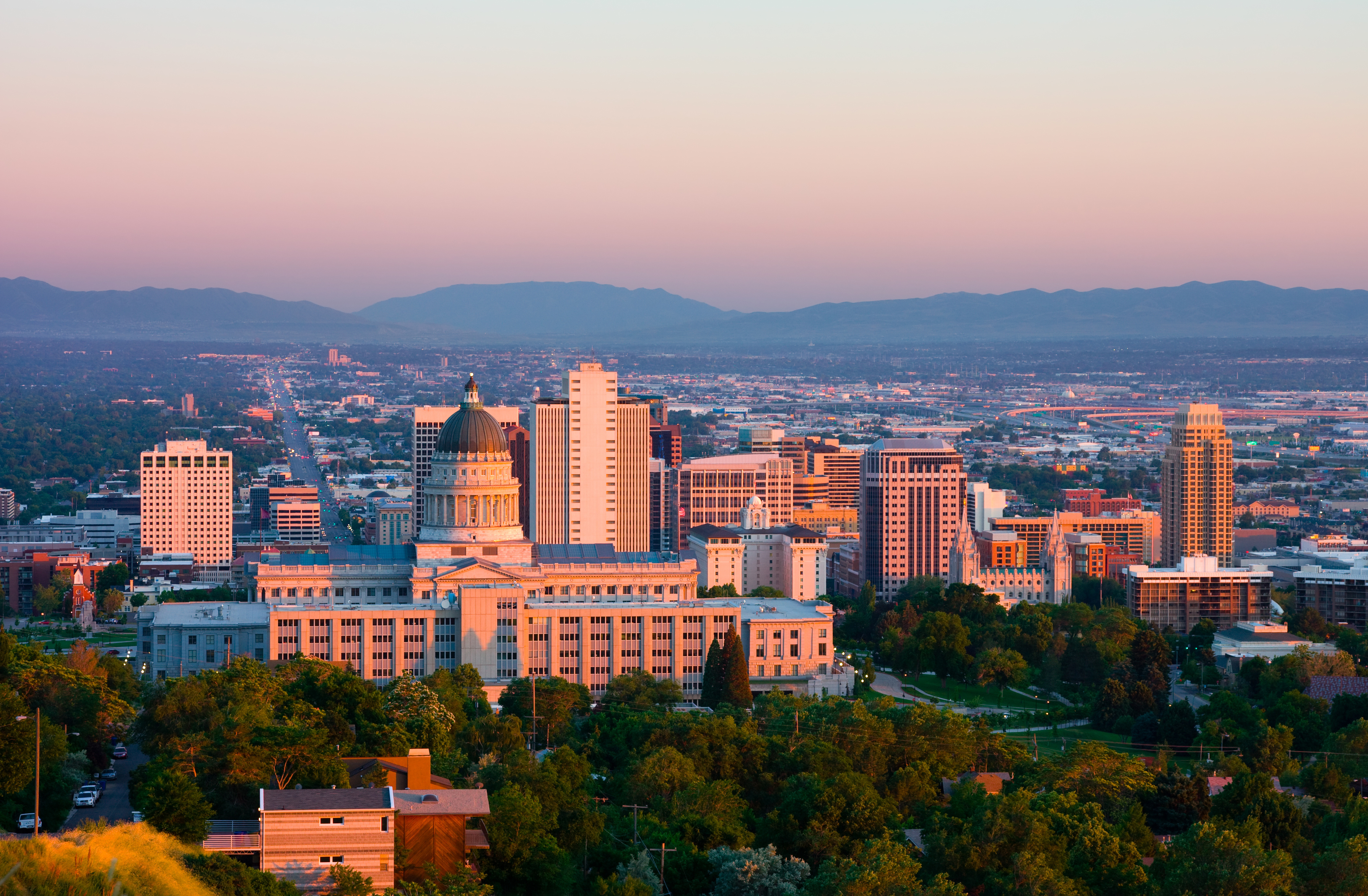 Utah Capital and Skyline